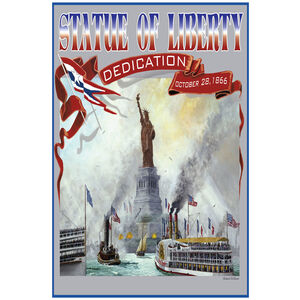 Statue Of Liberty Banners