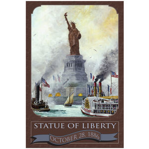 Statue Of Liberty 1886