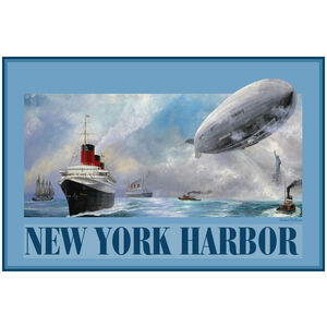 New York Harbor Hindenberg