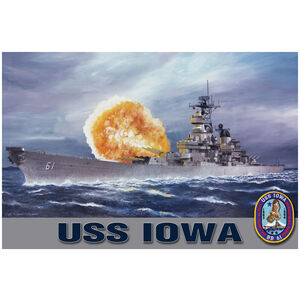 USS Iowa Broadside
