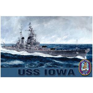 USS Iowa Cruising
