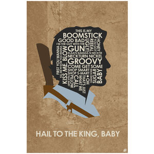 Evil Dead. Ash - Hail To The King, Baby