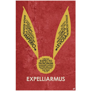 Expelliarmus Giclee Art Print Poster by Stephen Poon