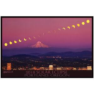 2018 Solar Eclipse Giclee Art Print Poster by Steve Terrill