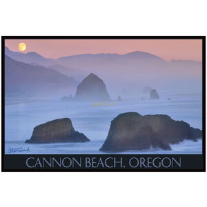 Cannon Beach and Moon
