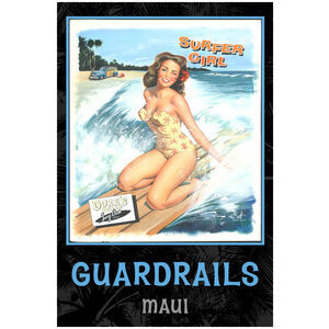 Surfer Girl Guardrails, Maui