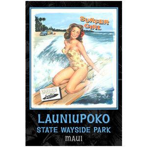 Surfer Girl, Launiupoko State Wayside Park